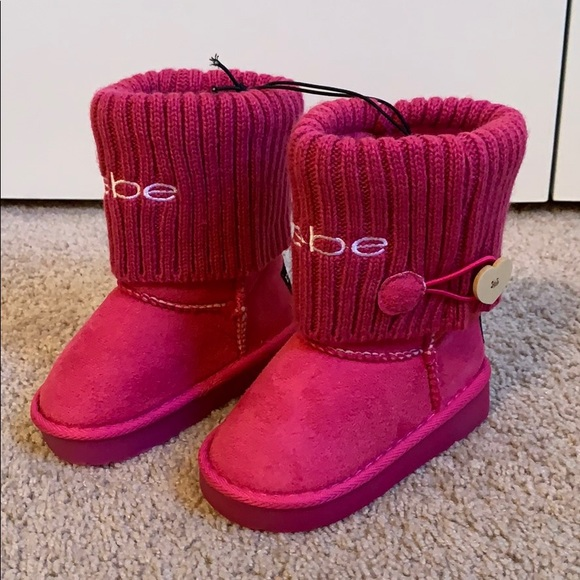 bebe Shoes | Pink Light Up Boots Size 8